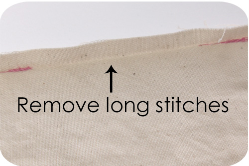 Remove stitches