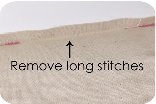 Remove stitches