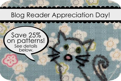 Blog reader appreciation
