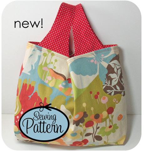 New Pattern Easy Reusable Grocery Bag Micepatterns