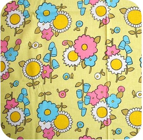 Vintage Sunflower Fabric