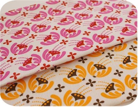 Pollen Design Hand Screen Printed Fabric