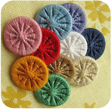 Dorset Buttons Rainbow Set Of 10 Michellepatterns Com