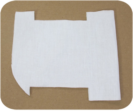 Trimmed interfacing A