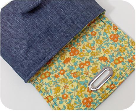 Blue linen lining blog image