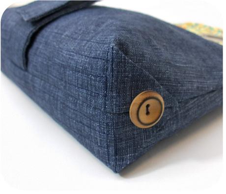 Blue linen inside blog image