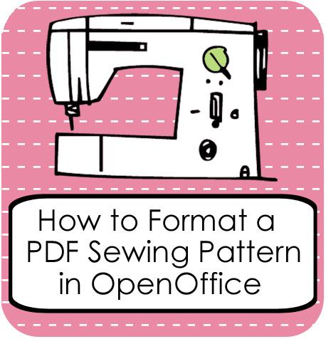Format pdf pattern