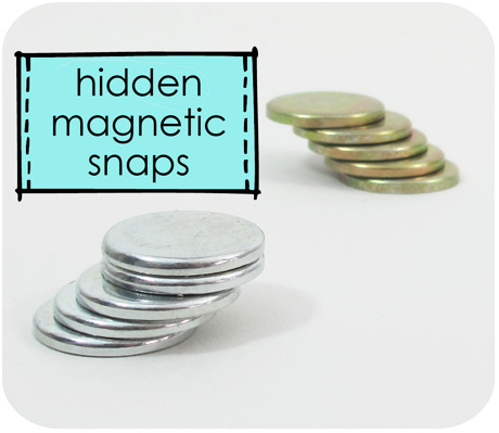 Sew in magnetic snaps blog image