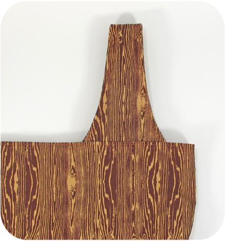 Woodgrain sample bag