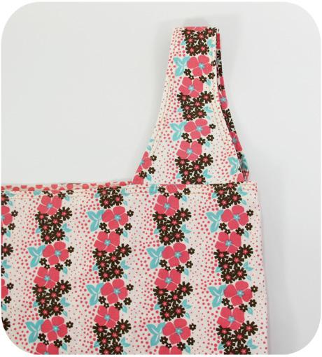 Pink flower stripe handle blog image