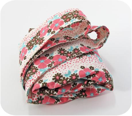 Pink flower stripe blog image