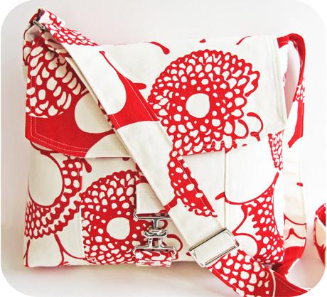 Red Messenger Bag Blog Image