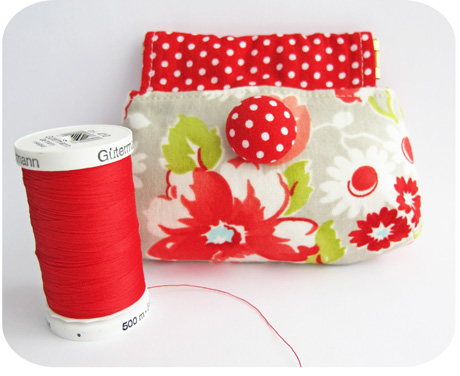 Red coin purse blog image