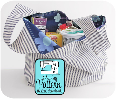 Ticking grocery bag blog image