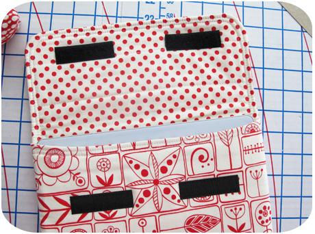 Red sleeve inside blog image