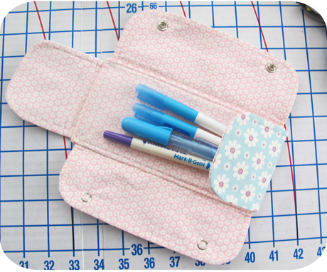 Pencil Pouch Inside Blog Image