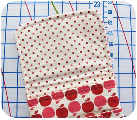 Apple Dot Mini Idea Pouch Lining Blog Image