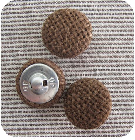 Burlap Buttons Blog Image