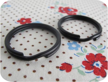 Split rings black blog image