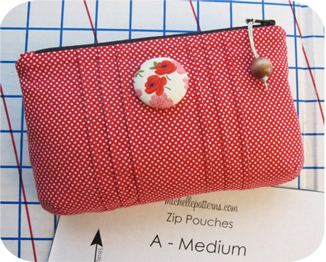 Medium Red with Pintucks Blog Image