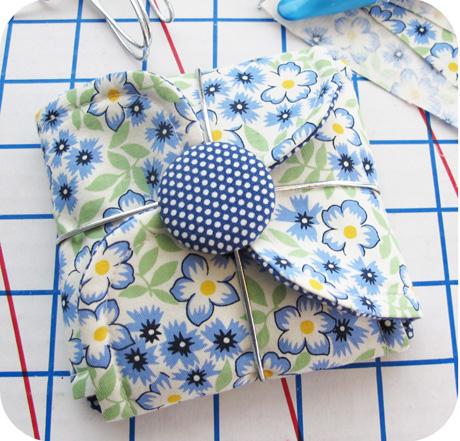 Blue Petal Pouch Blog Image