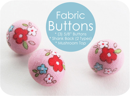 Little Red Riding Hood Buttons
