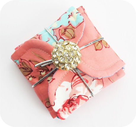 Tiny Pink Petal Pouch Blog Image