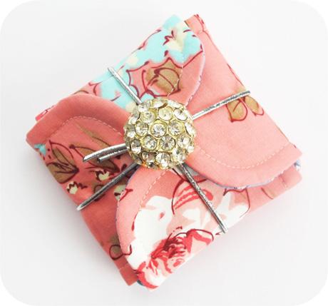 Tiny Pink Petal Pouch Blog Image