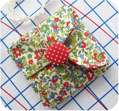 Christmas Petal Pouch Blog Image