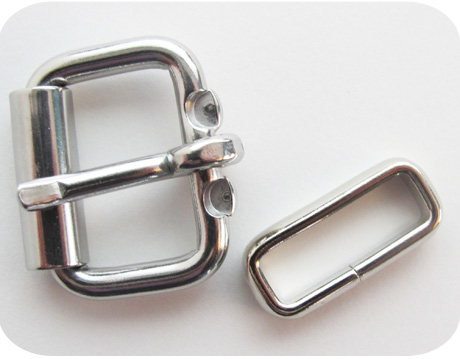 1 Inch Belt Buckle with Keeper