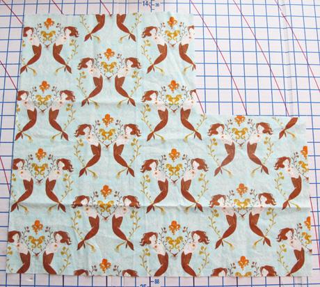 Heather Ross Mendocino Mermaid Fabric Destash