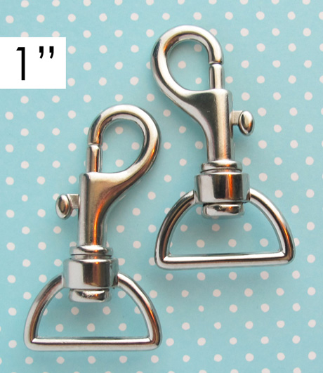 1 Inch Nickel Swivel 1