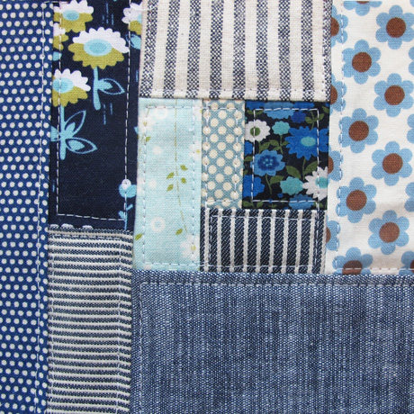 Patchwork Piece Blue