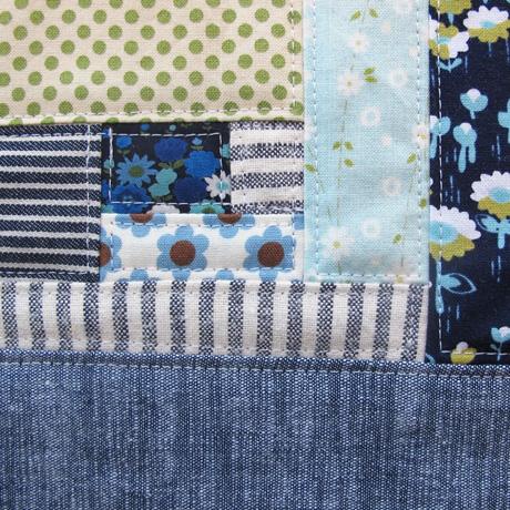 Patchwork Piece Blue 2