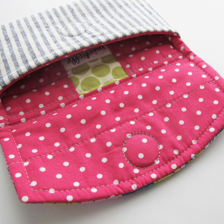 Phone pouch lining