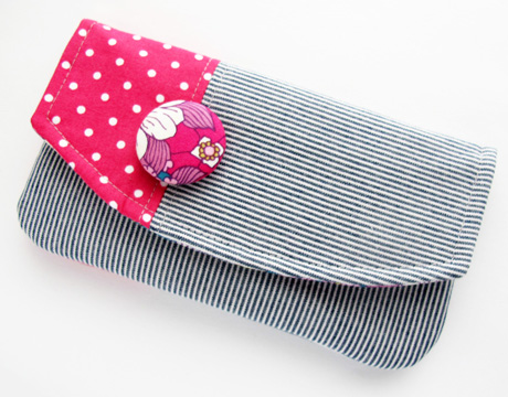 Color Block Pen Pouch
