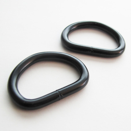 Drings 1 inch black
