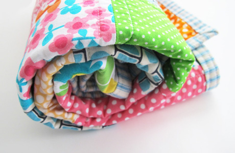 Baby quilt roll