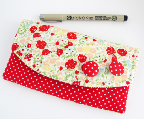 April Showers Pen Pouch