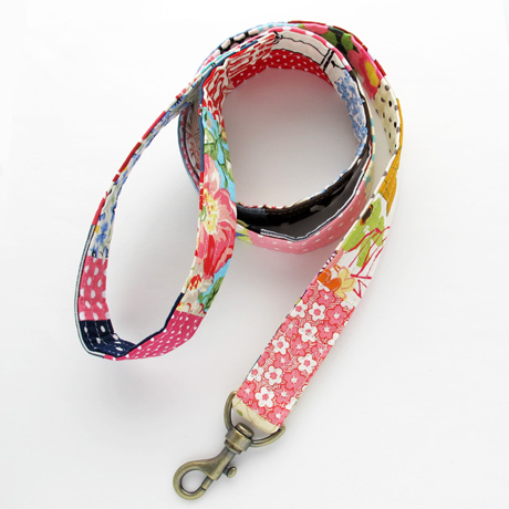 Patchwork leash