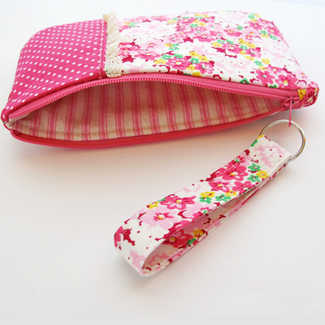 #6 Pink Floral Lining