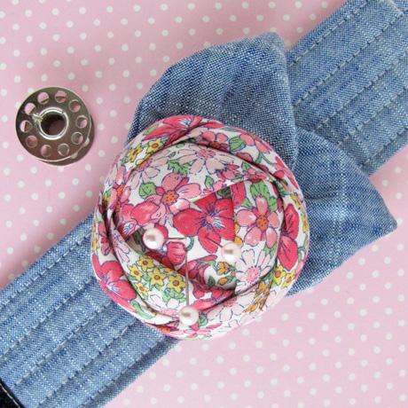 Pink Pincushion Cuff