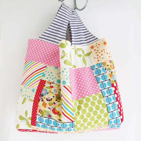 Patchwork Grocery Bag 12.14.2
