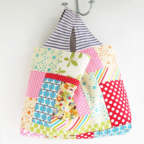 Patchwork Grocery Bag 12.14