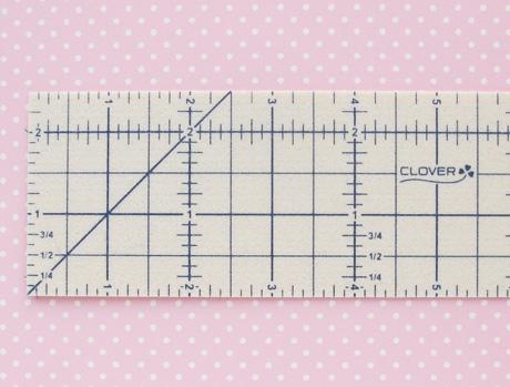 Clover hot ruler