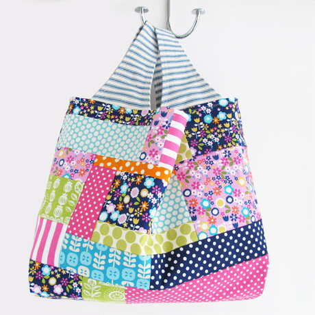 Flower Drift Patchwork Bag