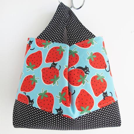 Medium blue kokka strawberries