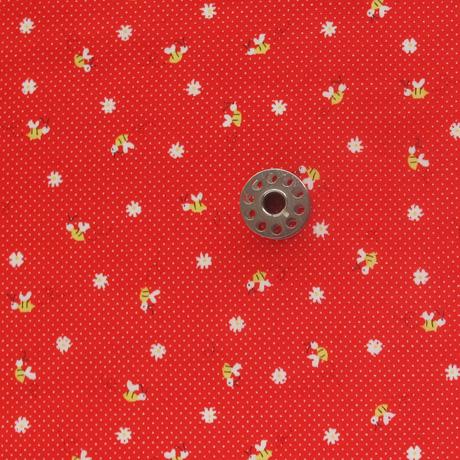 Minny Muu Bee Print Fabric