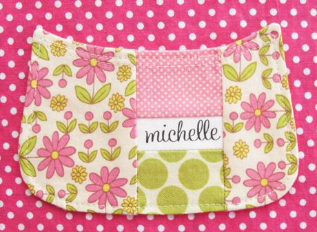 Pink Patchwork Pocket
