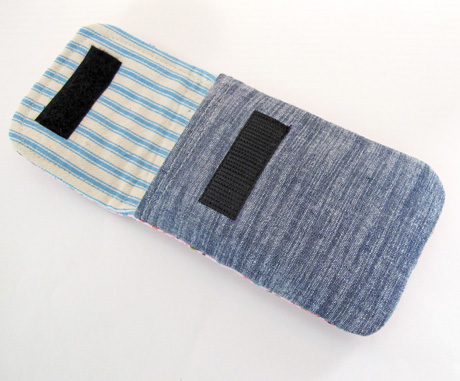 Blue Pouch Lining